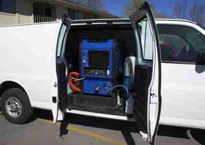 Carpet Cleaning Van 4c